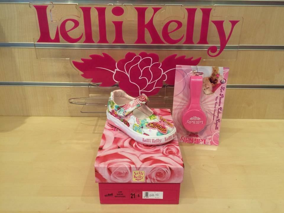 New Lelli Kelly Maisie Baby Dolly White Girls Canvas Shoes Velcro Size 26 - 35