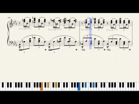Rachmaninoff Piano Concerto No 3 3rd Movement Piano Tutorial Piano Tutorial Rachmaninoff Tutorial