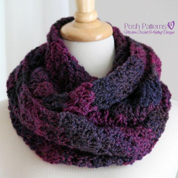 Free Crochet Scarf Pattern   Modern crochet patterns, Modern crochet ...
