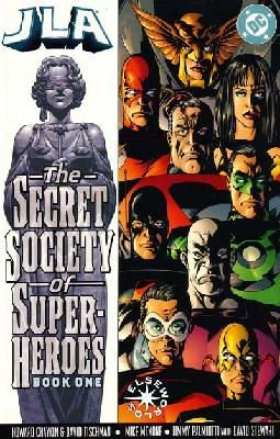 JLA - The Secret Society of Super-Heroes 1 2 complete set ---> shipping is $0.01!!!