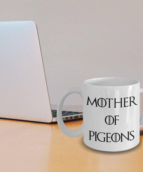 Pigeon Mug Pigeon Gifts Pigeon Coffee Mug Pigeon Plush