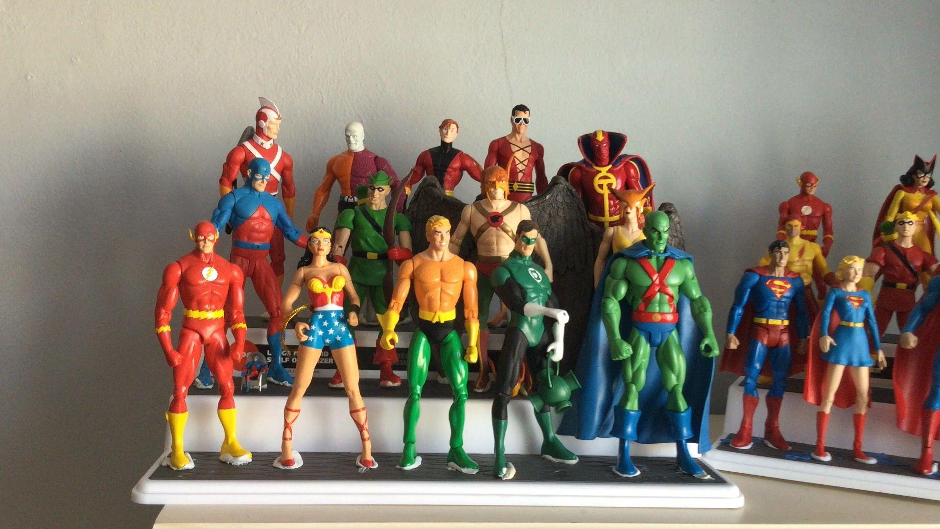 Original Justice League Other Dc Characters Original Justice League Action Figures Collection Justice League