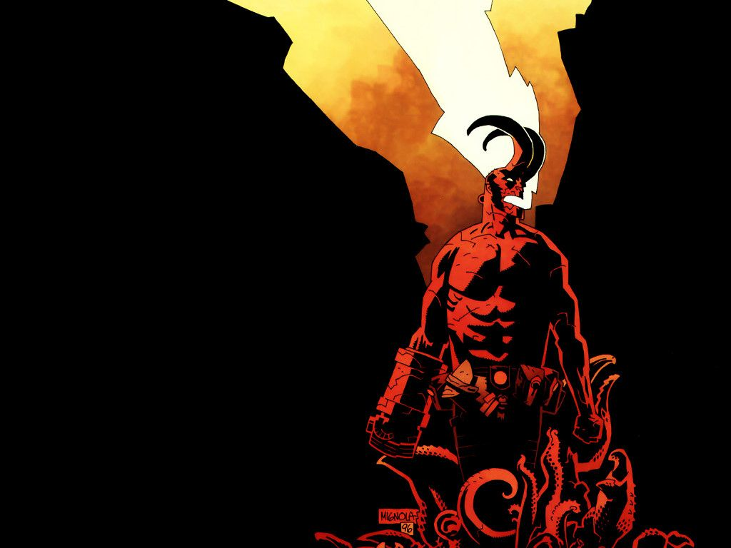 My Free Wallpapers Comics Wallpaper Hellboy Wallpapers I Have