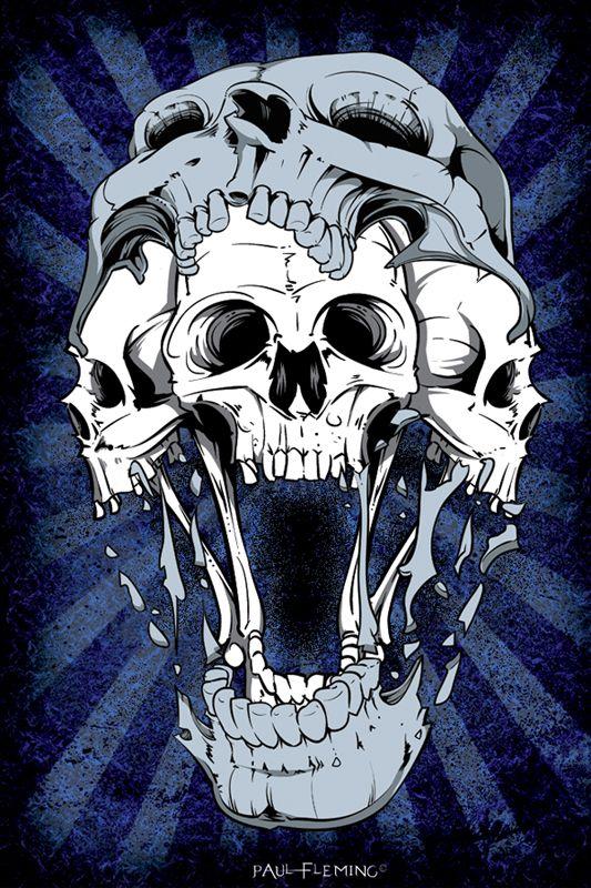 skull in skull by oblivion design on deviantart nice tattoos ideas pinterest totenk pfe. Black Bedroom Furniture Sets. Home Design Ideas