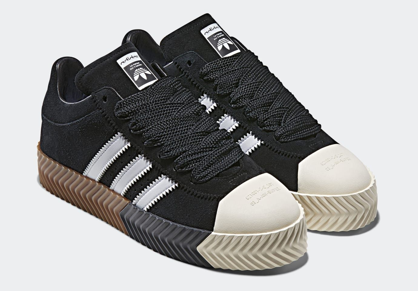 best website e227f 0cf2a Alexander Wang x Adidas AW Skate Super 'Black' (Pair ...