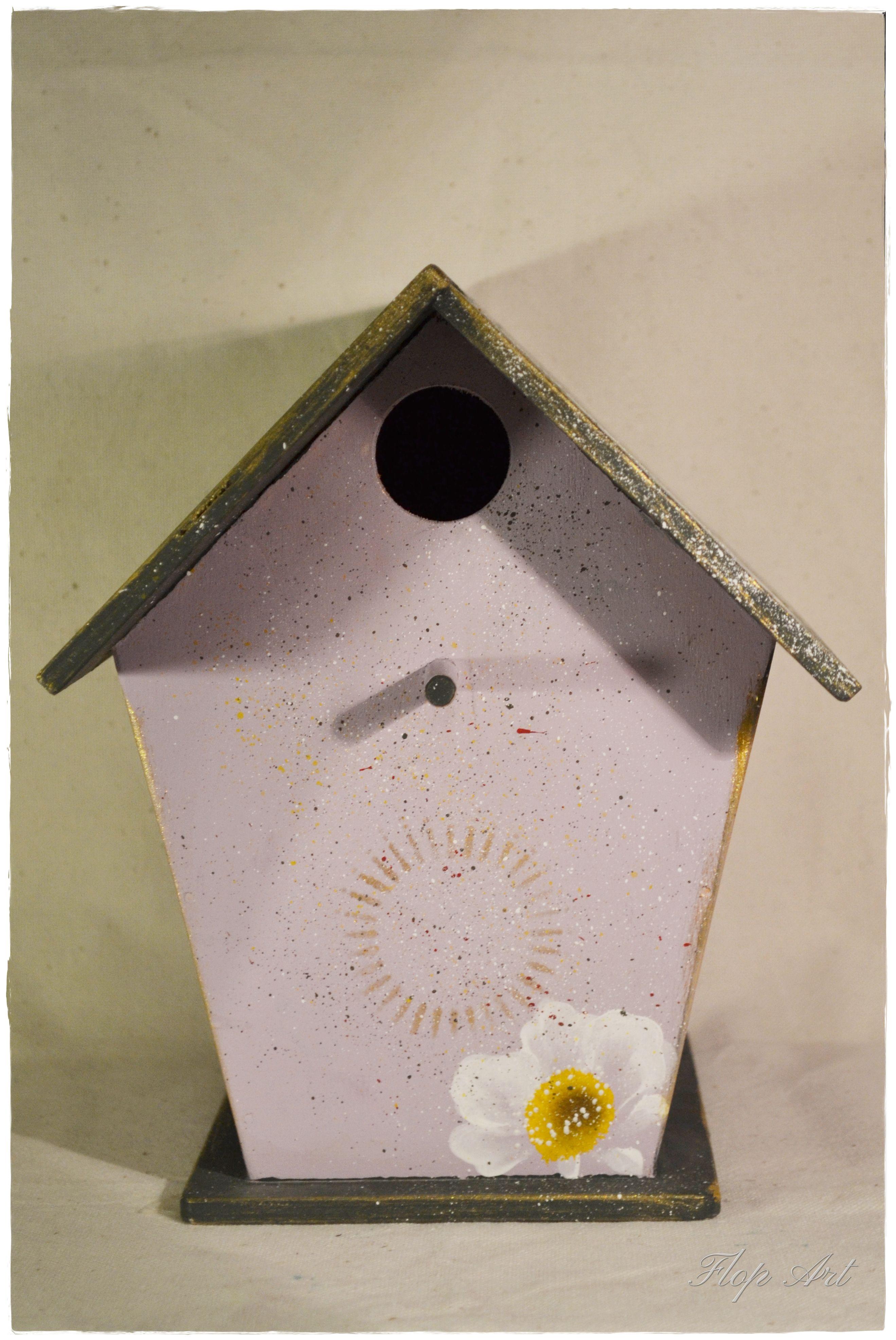 Birddhouse One Stroke Kucica Za Ptice