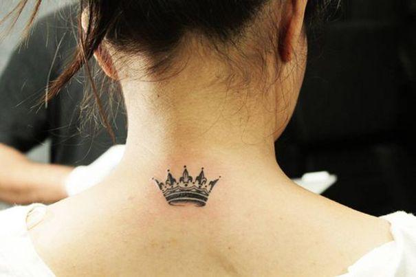 Crown Tattoo On Back My Style Pinterest Tattoos Crown Tattoo