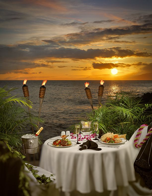 Romantic dinner by the sea. A must do at least once while visiting ...