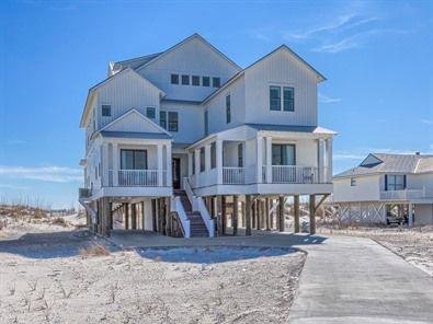 The Veranda Meyer Vacation Rentals Vacation Home Rentals Beachfront Rentals Beach House Rental