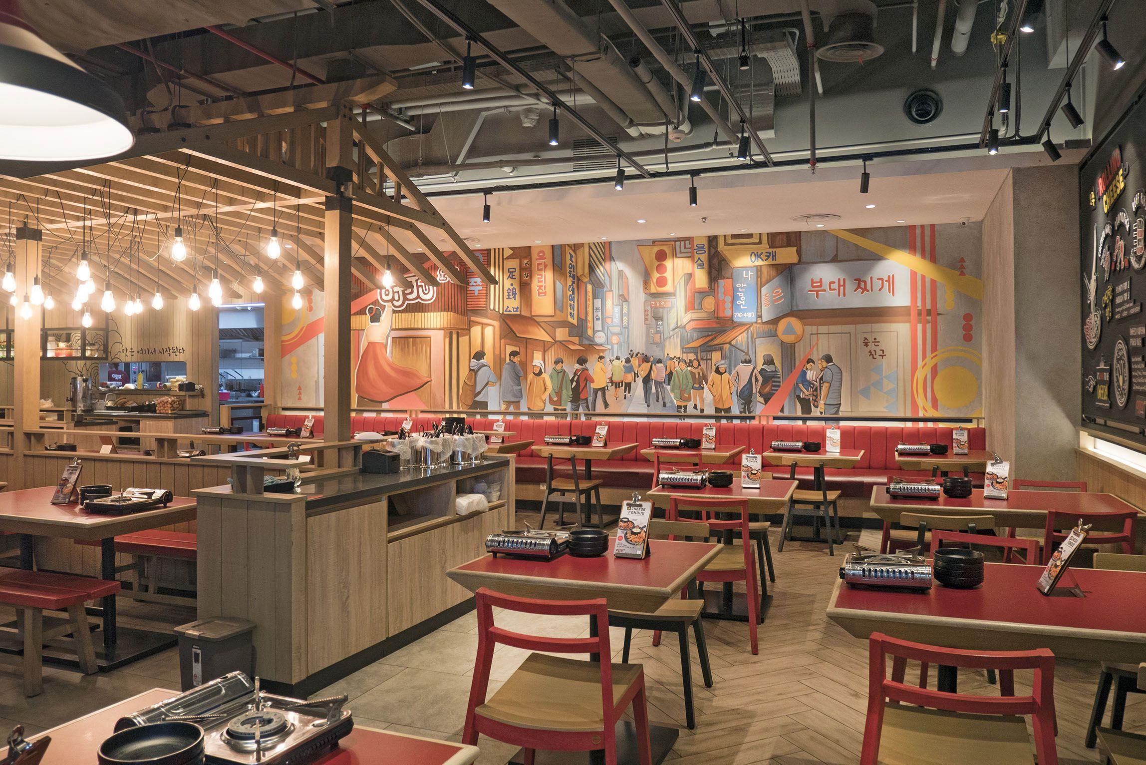 Ojju k food at grand indonesia jakarta cafe restaurant for Food bar 810