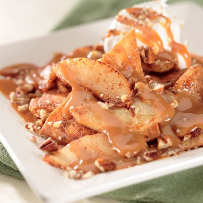 Photo of Apple Chilaquiles with Dulce de Leche