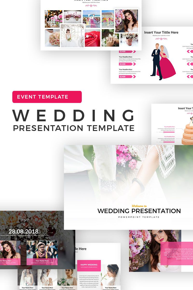 Wedding Powerpoint Template 69707 Event Template Presentation