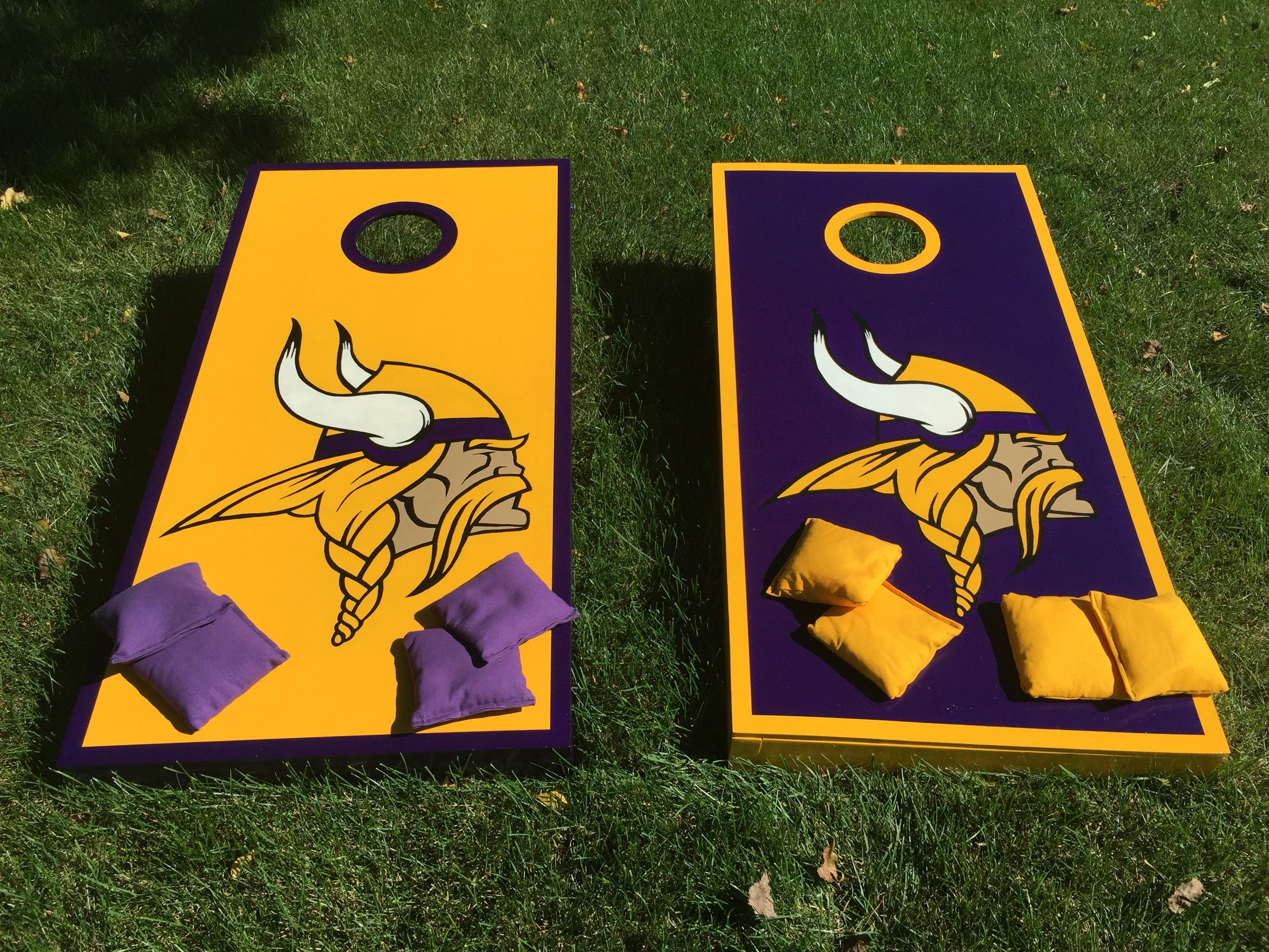 Fabulous Minnesota Vikings Boards Football Crafts Viking Decor Machost Co Dining Chair Design Ideas Machostcouk