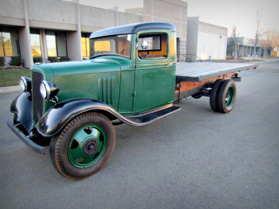 This is an awesome classic Chevy Truck! 1934 Chevrolet 1.5 Ton ...