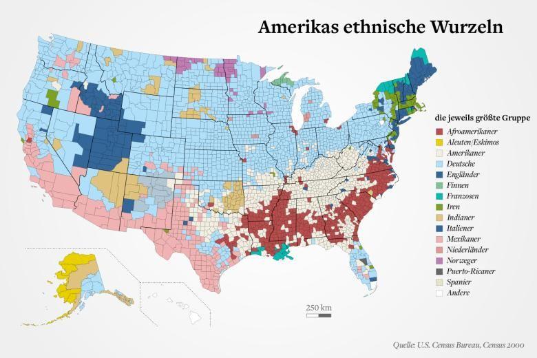 Migranten Nach Dieser Karte Musste Amerika Deutsch Sprechen
