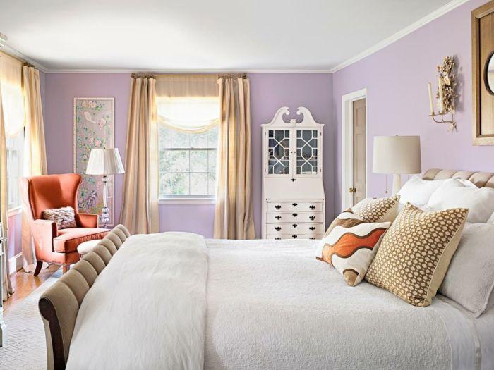 Schlafzimmer Farben Welche sind die neusten Trends für Ihre - Schlafzimmer Landhausstil Weiß
