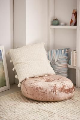 Pouf Camera Da Letto.Prezzi E Sconti Amya Velvet Pouf Cushion Pink Ad Euro 70 00 In