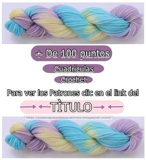 Mis Pasatiempos Amo el Crochet: Más de 100 puntos en crochet gratis