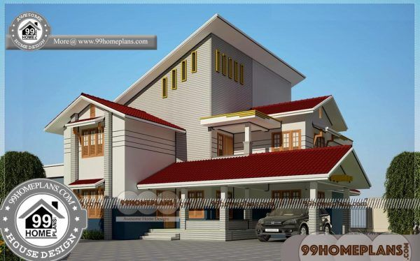 Latest indian home design collections double floor house plans also rh pinterest