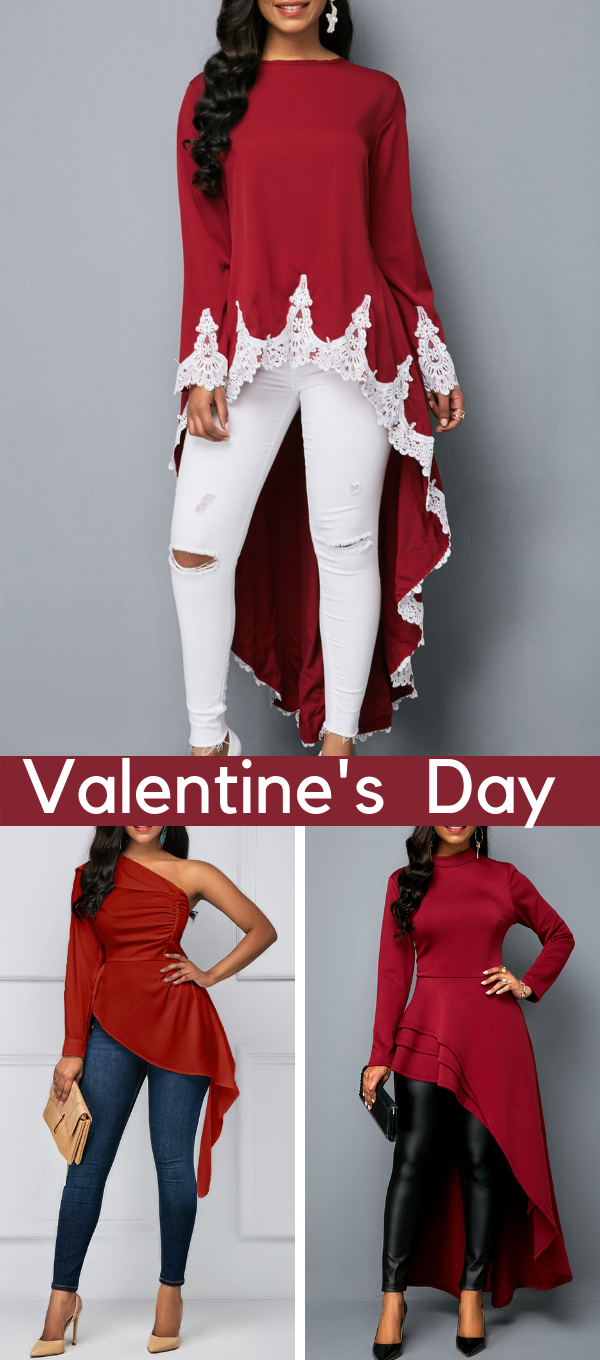 cefa0d62c5315 Valentines Day outfits come in various designs and shades
