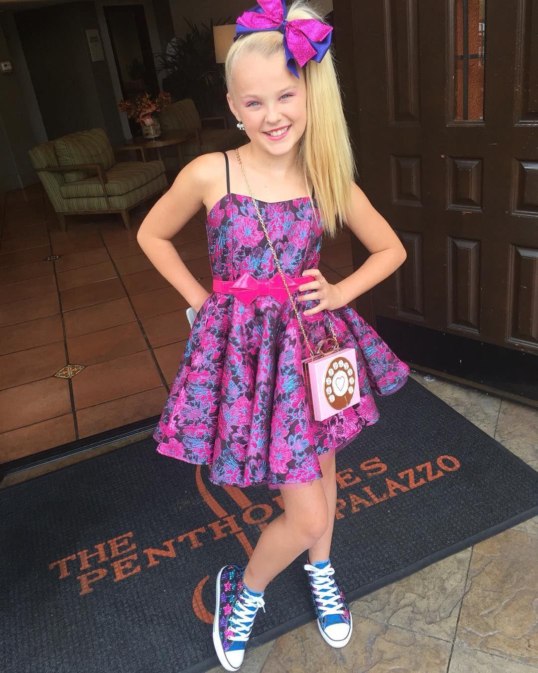 Pin de Jenna en JoJo Siwa | Pinterest | Vestidos niña y Vestiditos