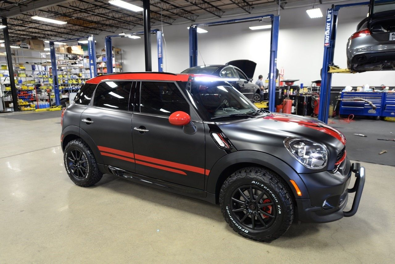 Eurotech Lifted Mini Countryman 3 Cars Trucks Mini Countryman
