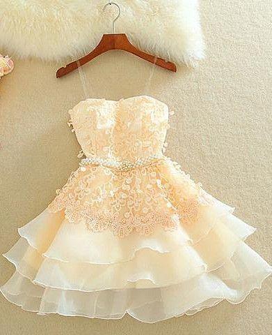 3f8ecc1418 34 Vestidos cortos en diferentes colores para xv años - Ideas para Fiestas  de quinceañera -