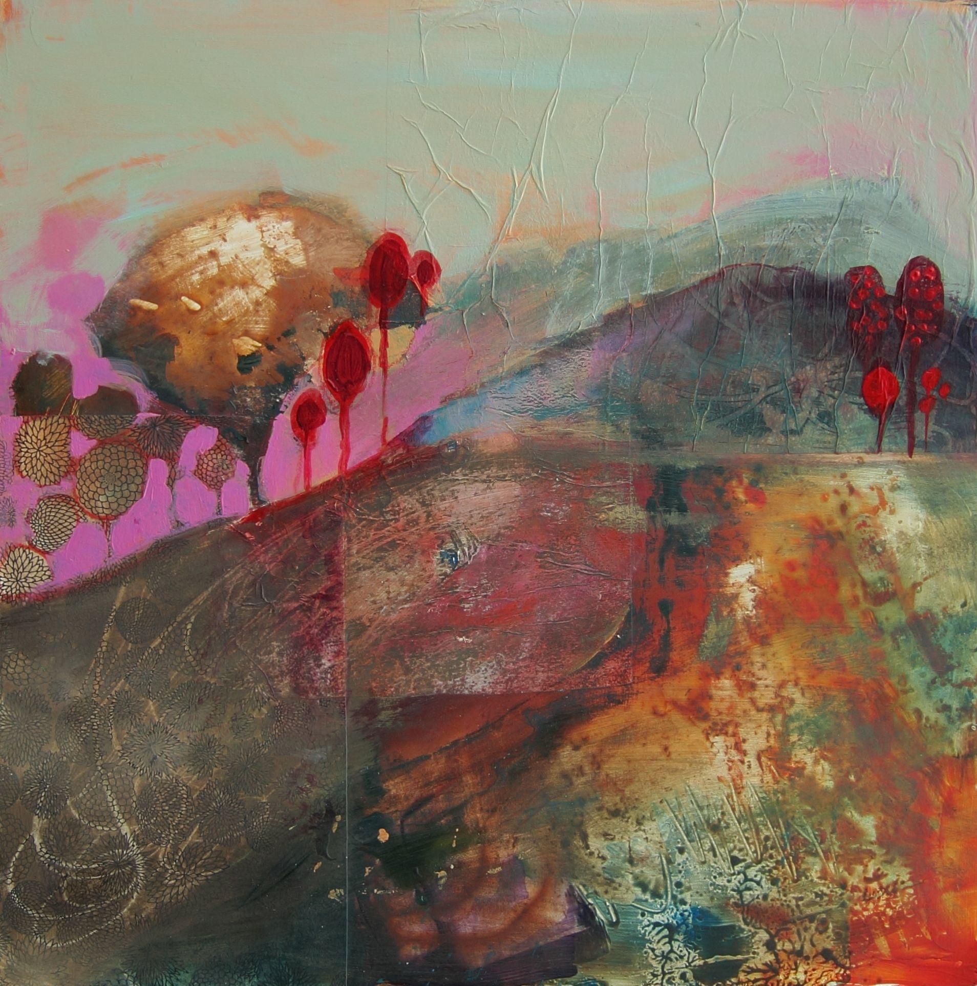 Red Landscape....judy thorley