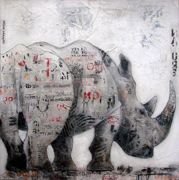toiles peinture acrylique - Google Search картини Pinterest - primaire d accrochage peinture