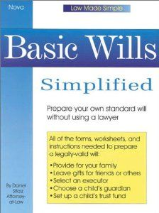 Basic Wills Simplified Law Made Simple By Daniel Sitarz 0 87