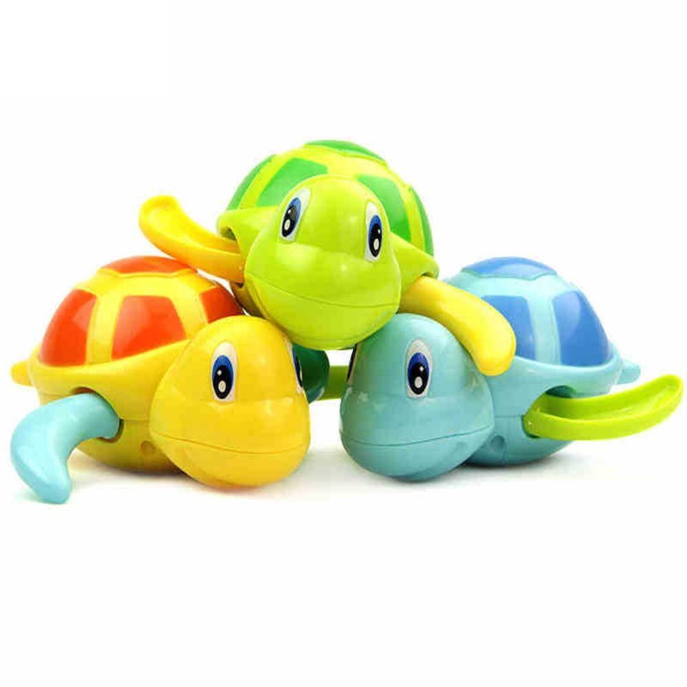 Baby Turtle Wind-Up Bath Toy   Bath toys, Turtle and Bath