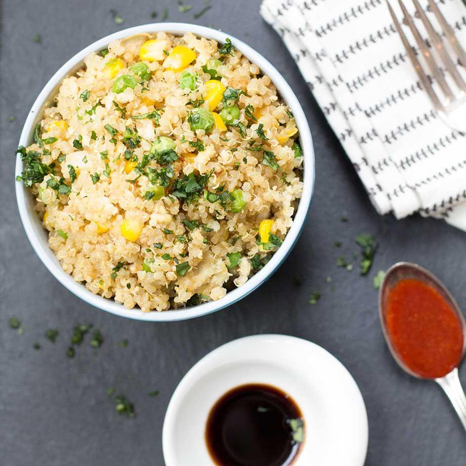 """""""In The Door"""" Quinoa Fried Rice"""