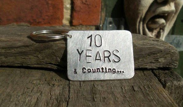 10th Wedding Anniversary Gifts For Husband: 10 Years And Counting 10th Anniversary 10 Year Tin