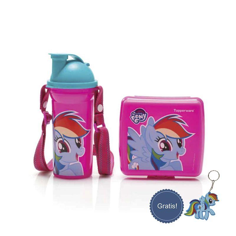 087837805779 My Little Ponny Lunch Set Tupperware Tupperware Promo Desember 2017 Katalog Promo Tupperware Desember Tupperware My Little Pony Little Pony