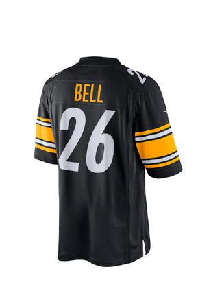 Le'Veon Bell Nike Pitt Steelers Mens Black Tackle Twill Jersey