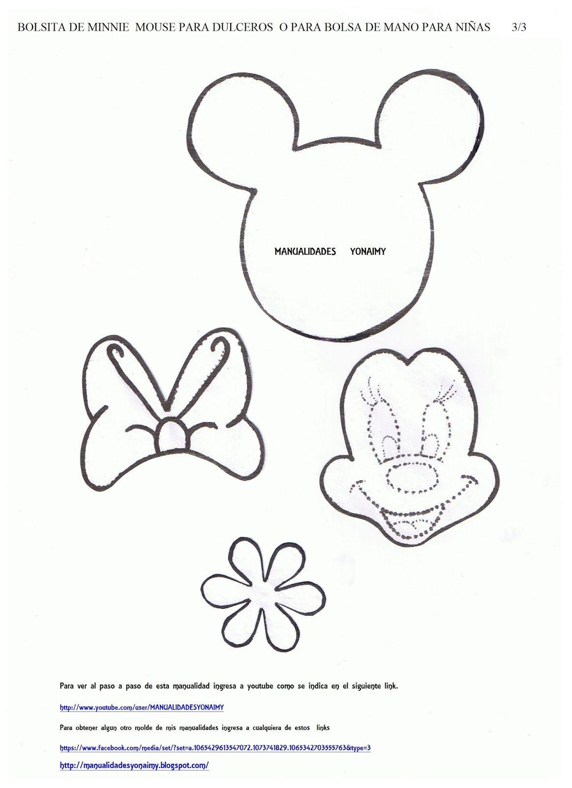 MANUALIDADES YONAIMY | MINNIE | Minnie mouse y Birthday