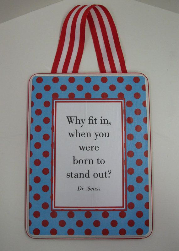 Quotes Nursery Rhymes Sayings Dr Seuss by RibbonMade on Etsy, $15.00
