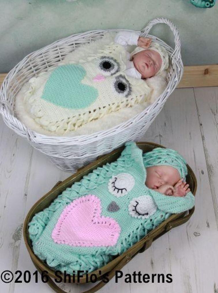 Fantástico Crochet Pattern For Baby Cocoon Modelo - Ideas de ...