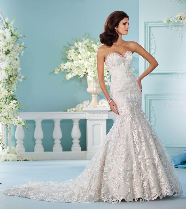 David Tutera Weddings Ideas: David Tutera's Spring 2017 Wedding Dresses Are Straight