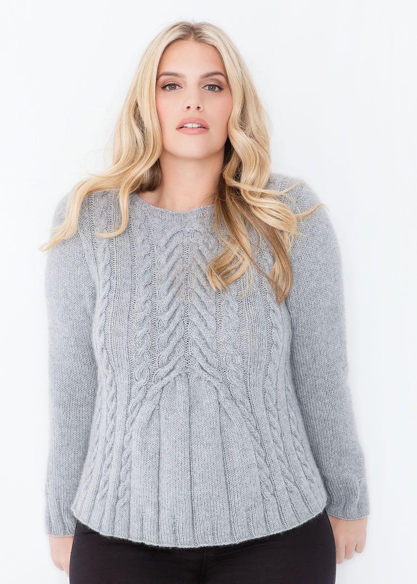 PULLI MIT ZOPFMUSTER 100% Cashmere Fine | MI: sweaters