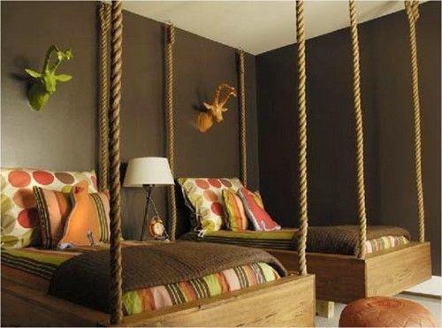 Cuartos niños Decoración con cadenas | pieza estudio | Pinterest ...