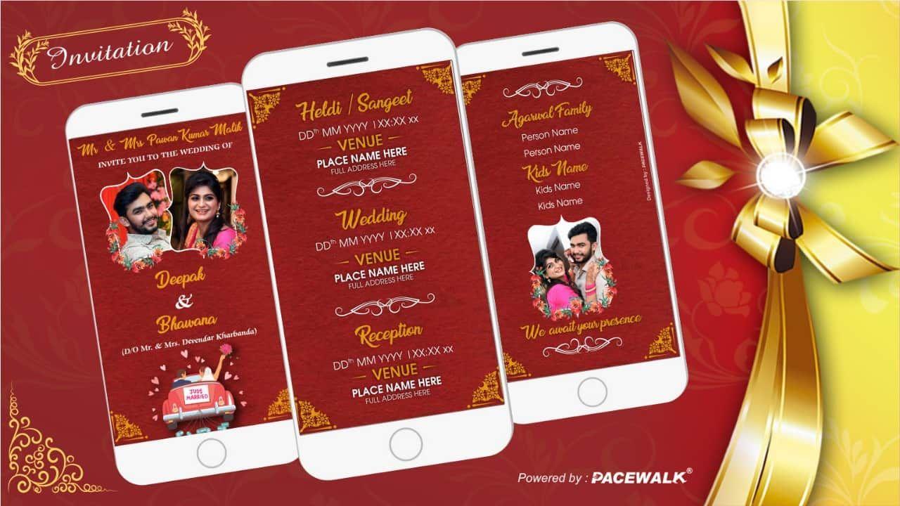 Best Indian Cinematic wedding Invitation ECards in 2020