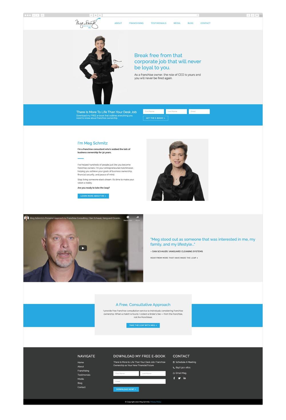 Meg Schmitz Wicky Design In 2020 Responsive Web Design Inspiration Wordpress Website Design Web Layout Design