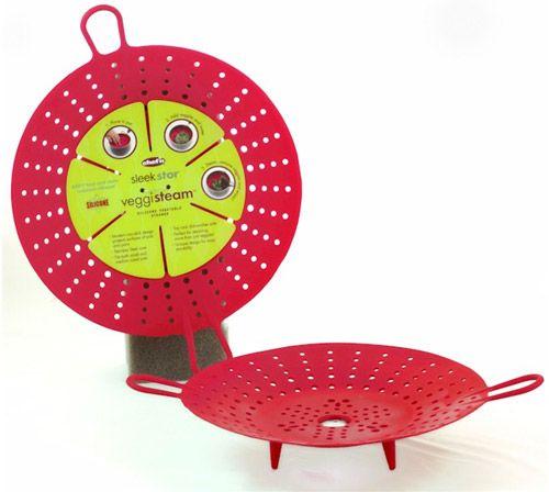 VeggiSteam, accesorio para cocer al vapor