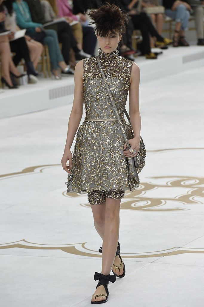 Chanel Couture Fall 2014.