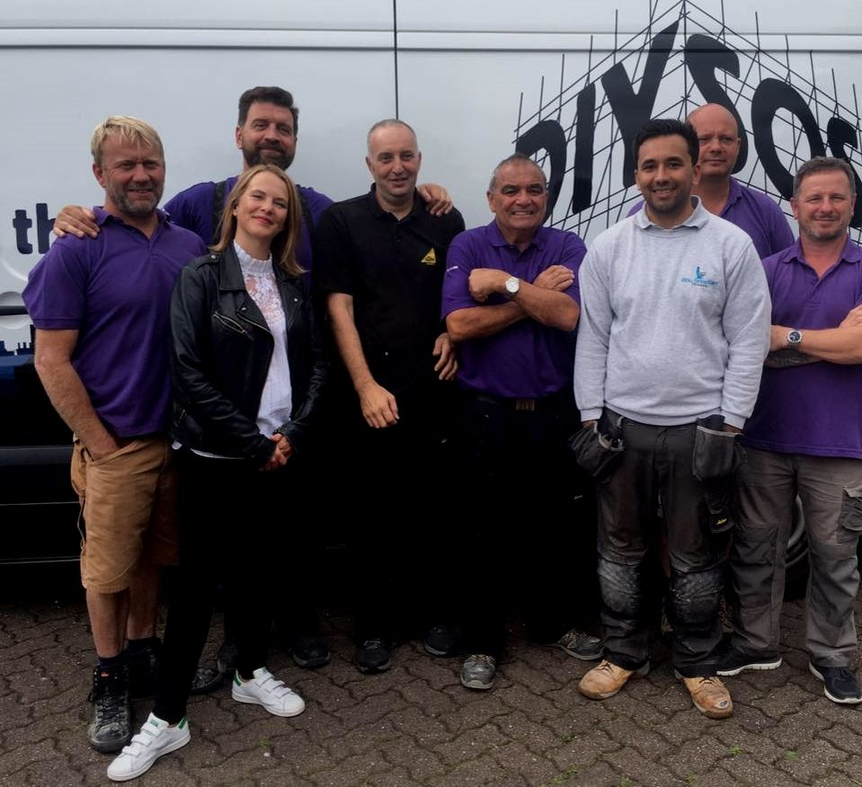 MIS' NVQ Student for the BBC's DIY SOS Bbc s