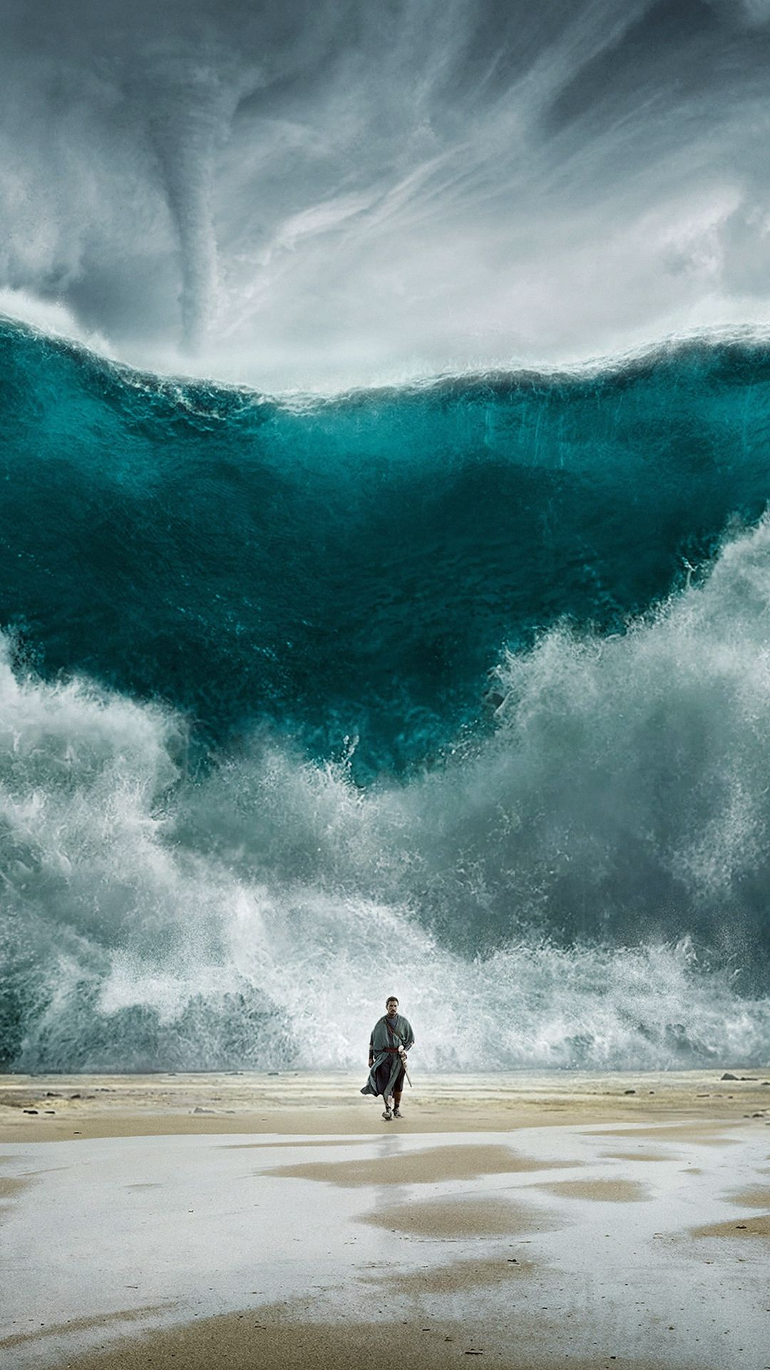 Wave Sea Art Film Illust IPhone 6 Plus Wallpaper