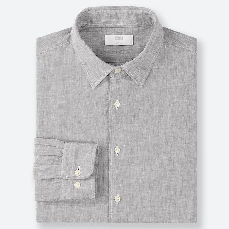 volume grand bon marché top design Chemise lin col classique homme | Fly to death in 2019 ...