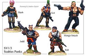 Street Violence - Scabies Punks - SV013