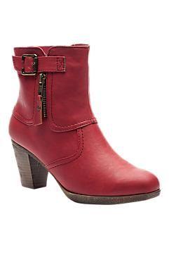 rode lakschoenen